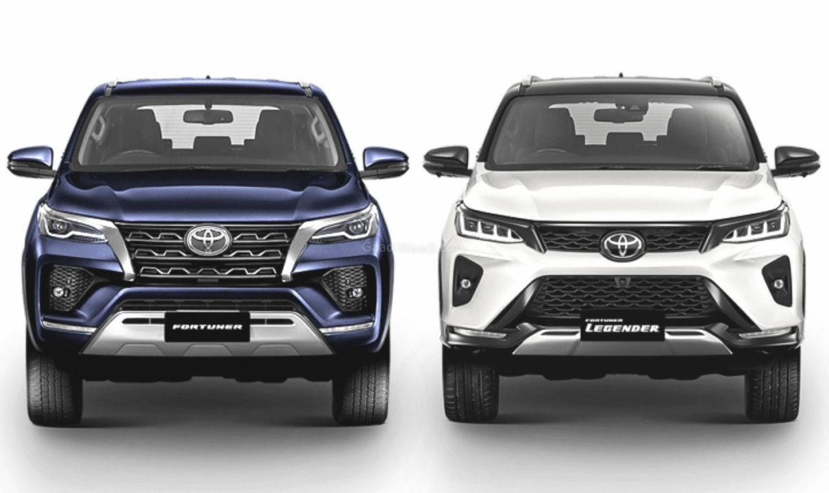2021 Toyota Fortuner Facelift & Legender India Launch On January 6
