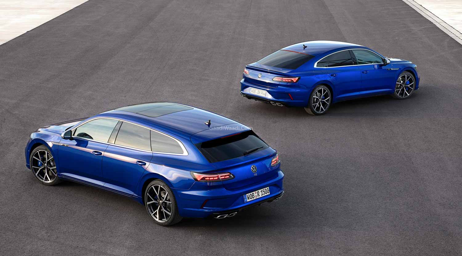 Facelifted 2021 Volkswagen Arteon Unveiled With New Wagon ...