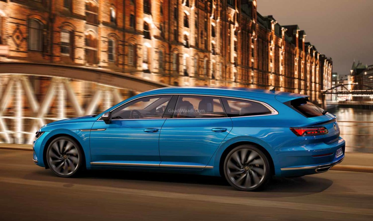 facelifted 2021 volkswagen arteon unveiled with new wagon