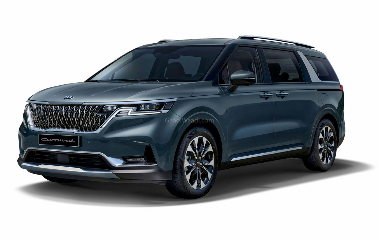 Real World Images Of The Next-Generation Kia Carnival