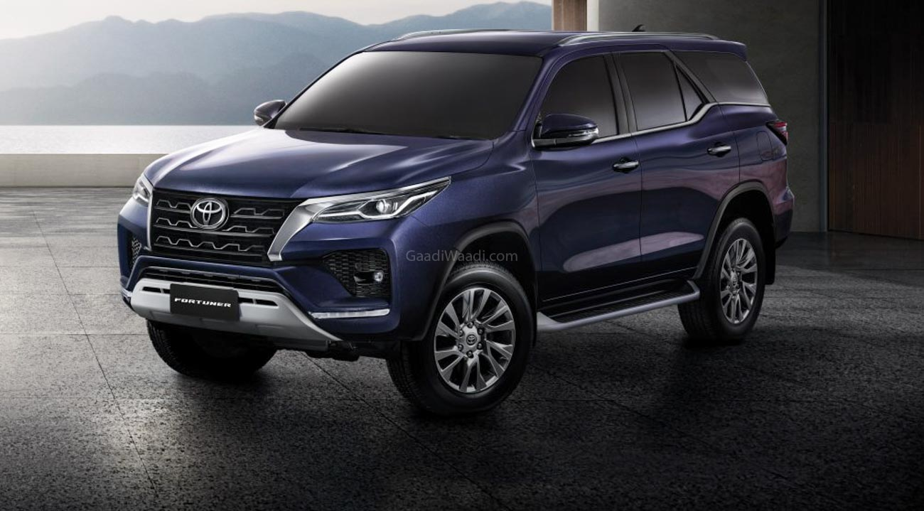 India Bound 2021 Toyota Fortuner Facelift 5 Things To Know
