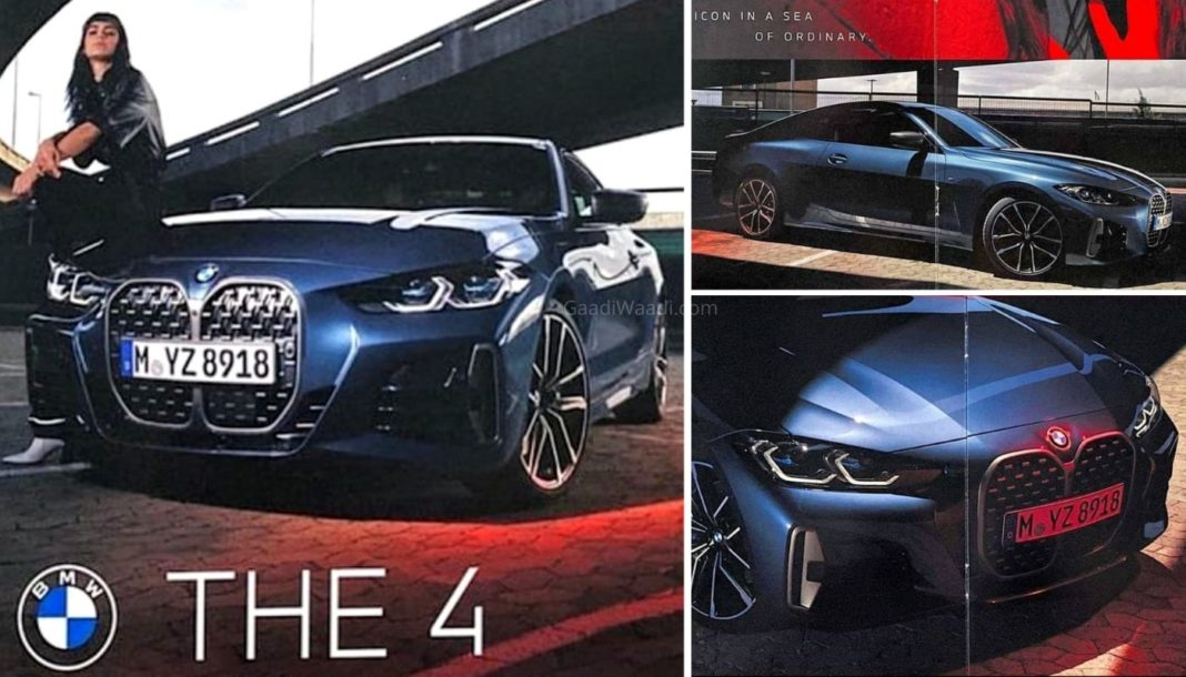 BMW Series 4 Coupe pictures leaked ahead of launch