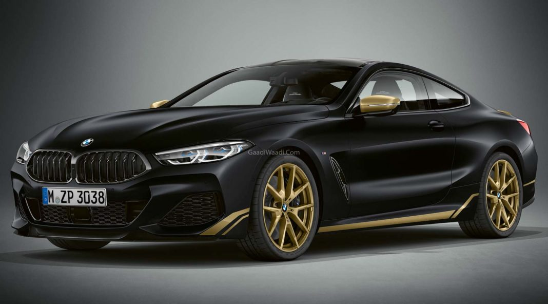 BMW 8 Series Golden Thunder Edition makes its debut