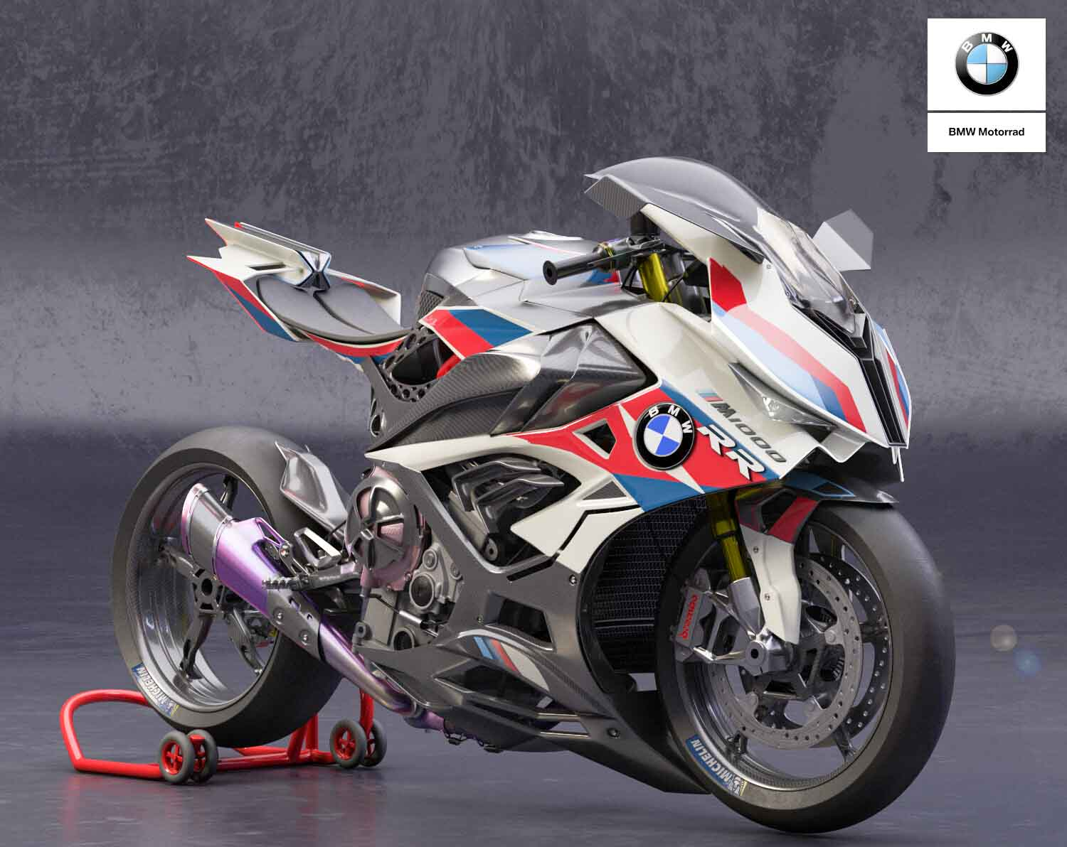 BMW M1000RR Electric Supercharged Superbike Visualized ...