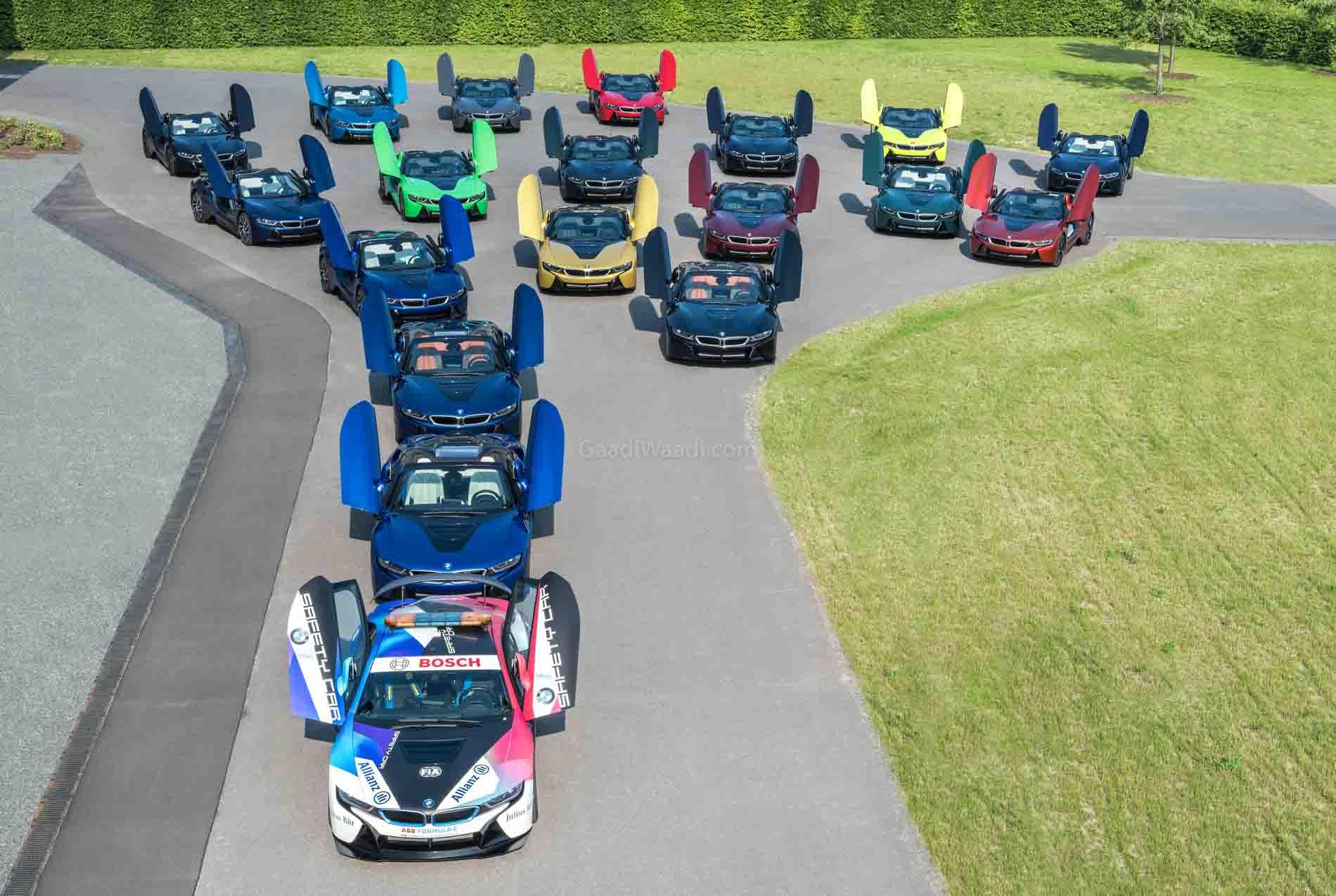 BMW i8 Production Ends, Last Batch Gets A Unique Goodbye – Details