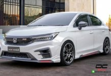 Customised 2020 Honda City
