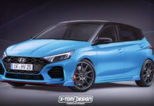 Hyundai I20N rendering