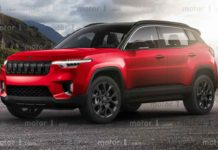 Jeep Compass SUV Rendered