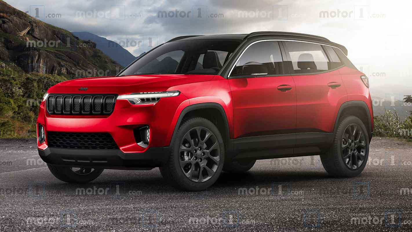 Jeep Compact SUV (Venue Rival) Rendered With Rugged Yet Stylish Design