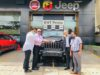 Jeep Rubicon Delivery