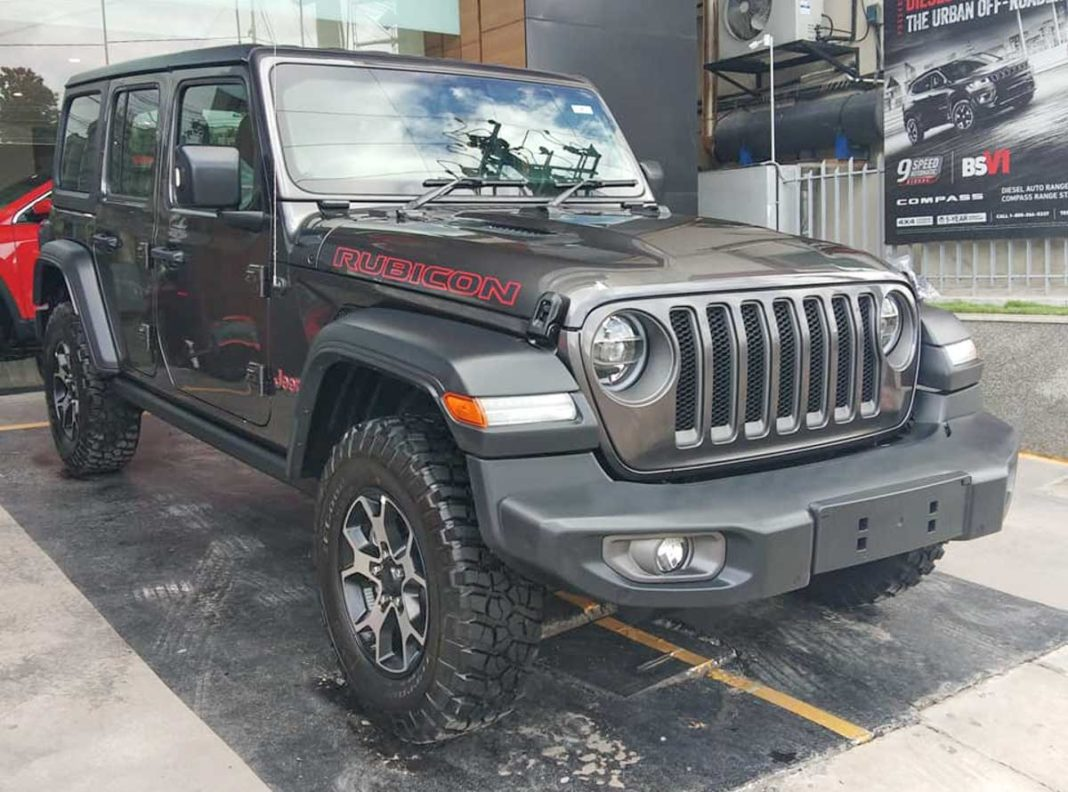 India's First Jeep Wrangler Rubicon Delivered In Bangalore