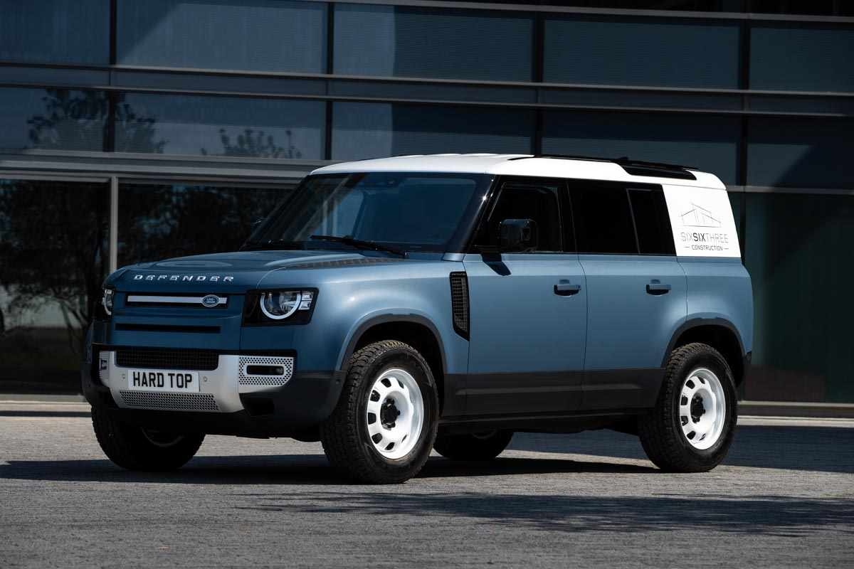 Land Rover Defender Hard Top Officially Confirmed; Launch Later This Year