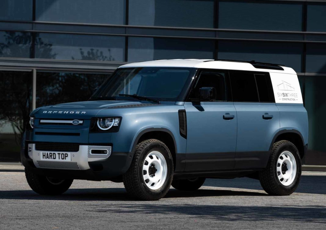 LAND ROVER DEFENDER MEANS BUSINESS AS HARD TOP NAME RETURNS FOR NEW COMMERCIAL - 2