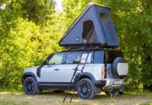 Land Rover Defender with Optional Roof Tent-14
