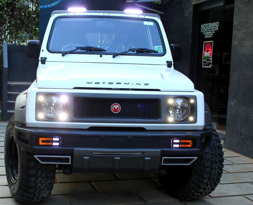 Modified Maruti Gypsy-5