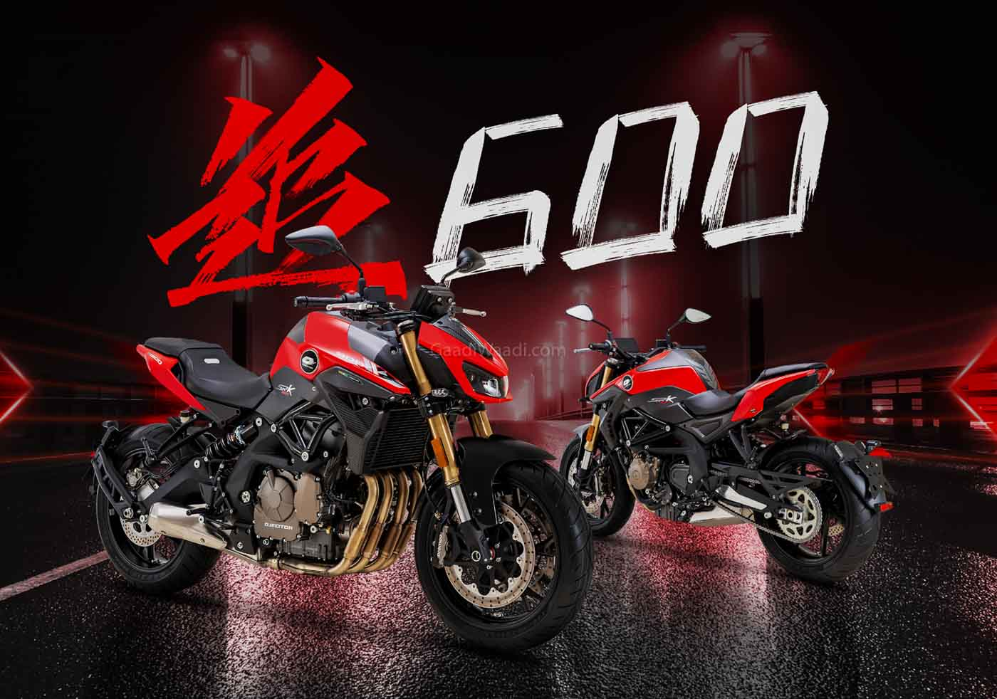 India-bound new 2020 Benelli TNT 600i launched in China