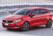 New-Gen Fiat Punto Rendered