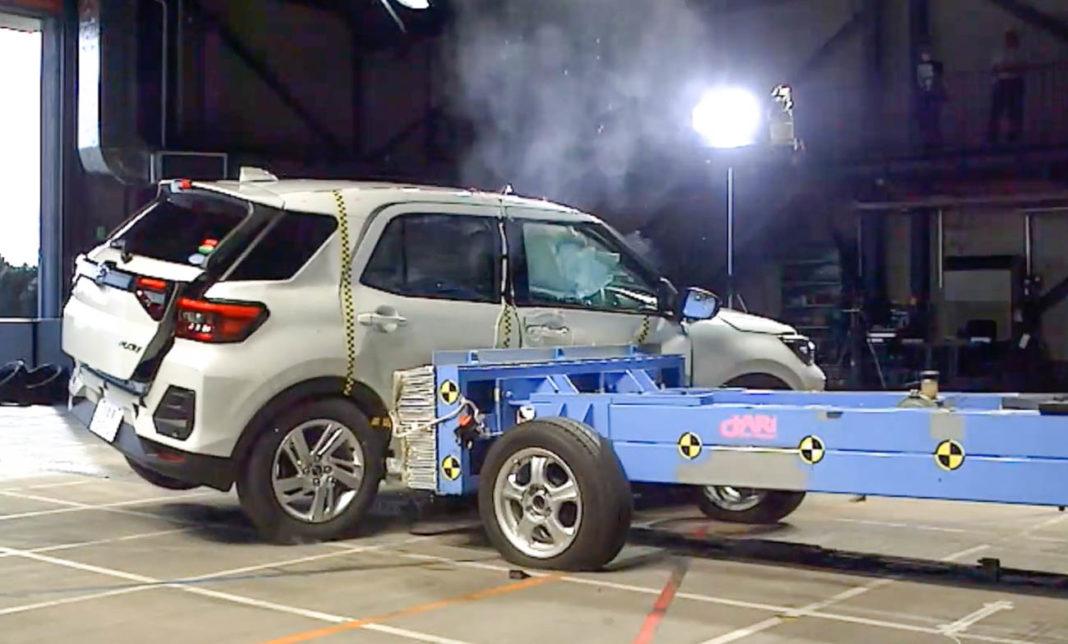 Rcky Daihatsu Crash Test