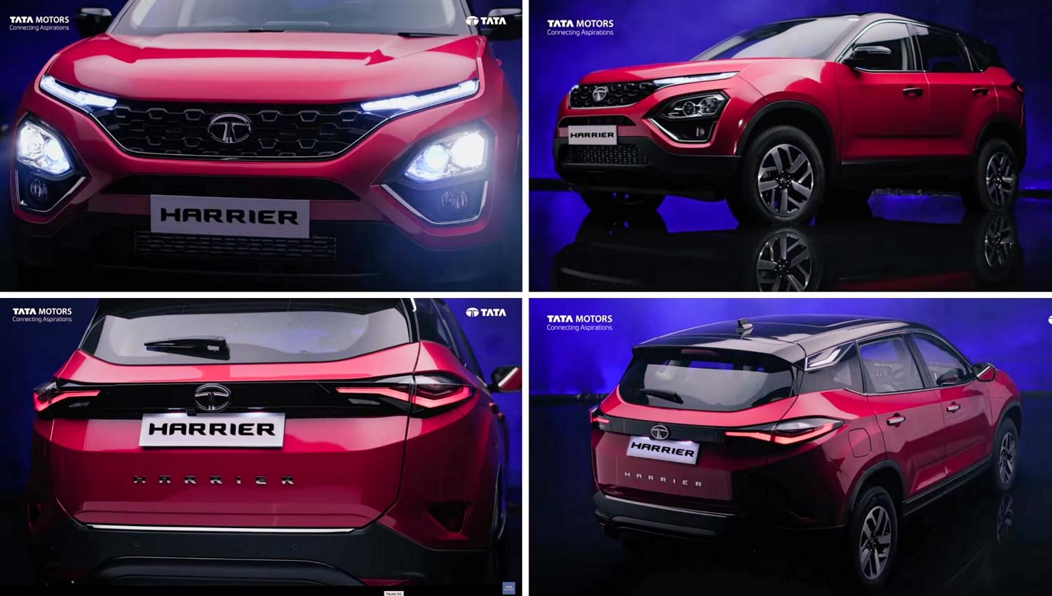 2020 Tata Harrier Gets New TVC To Highlight Its New Features