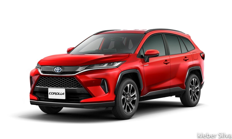 Toyota Corolla Cross Suv Rendered Based On Spyshots