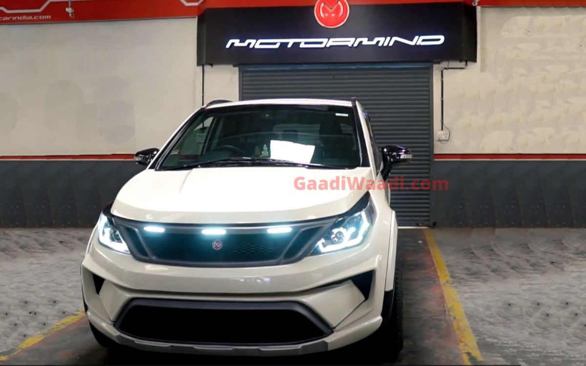 This Tastefully Modified Tata Hexa Looks Sporty Yet Muscular