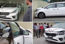 kia carnival accident-1