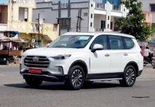 mg Gloster india spied