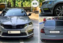 skoda octavia rs custom 337 PS-1
