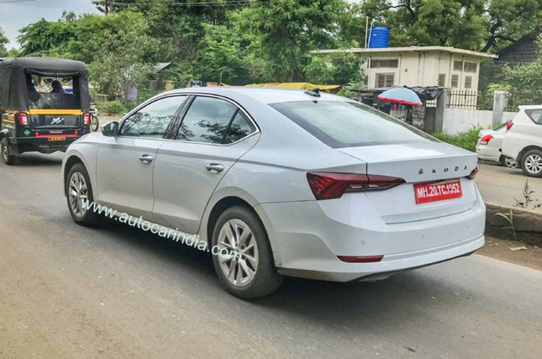 All-New Skoda Octavia Spied For The First Time In India ...