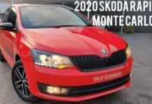 2020 Skoda Rapid Monte Carlo Exterior