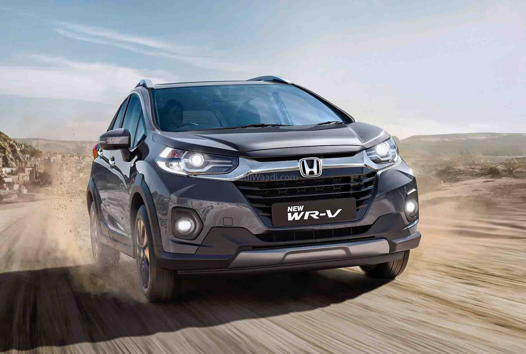 2020 Honda WR-V BS6 Launched In India; Priced From Rs. 8.49 Lakh