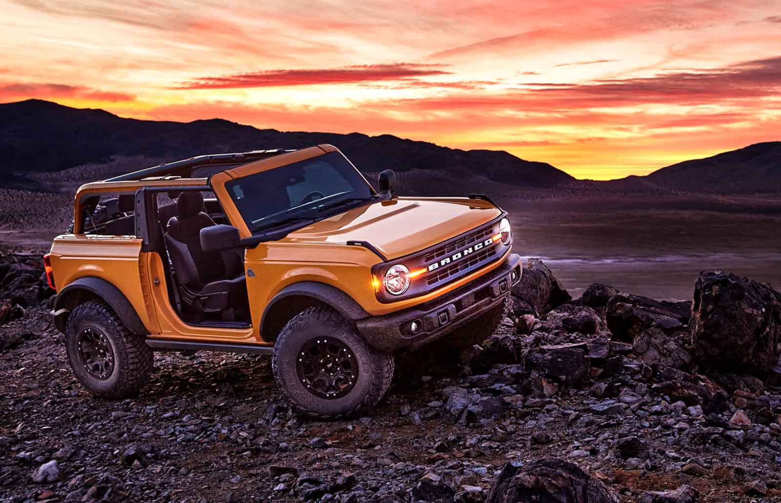 legend returns allnew 2021 ford bronco unveiled