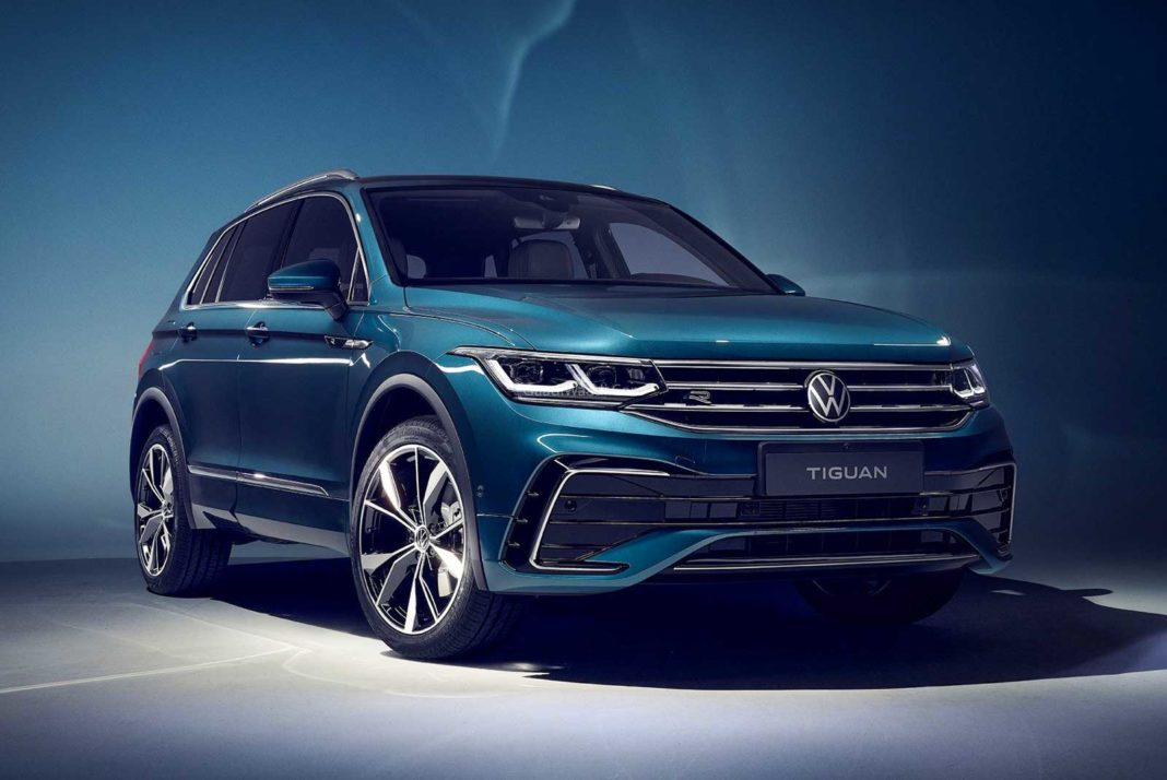 Volkswagen Offers Up Refreshed Tiguan in the USA for 2022 Model Year