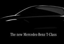 2022 Mercedes-Benz T-Class Teased