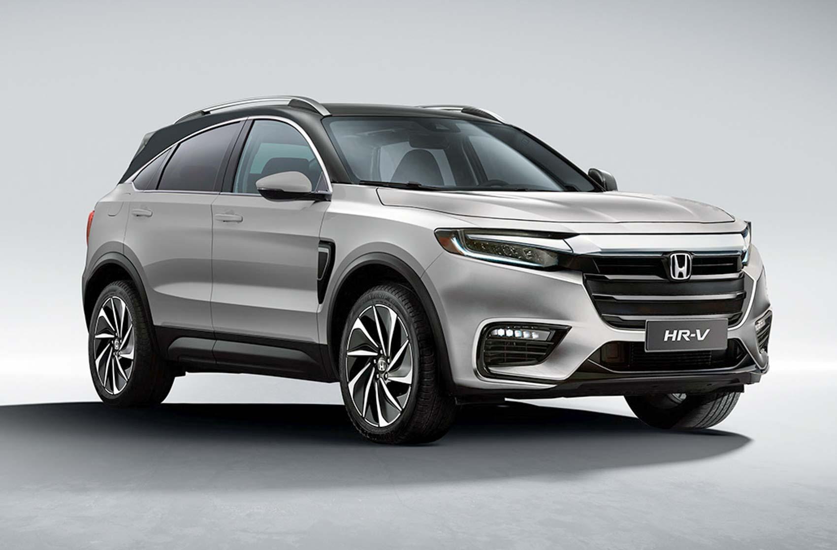 Next-Gen (2020) Honda HR-V Rendered As Hyundai Creta Rival SUV