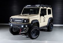 Aimgain MT8 Jimny Sierra body kit feature image