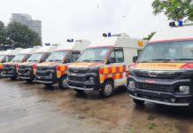 BS6 Tata Winger Ambulance