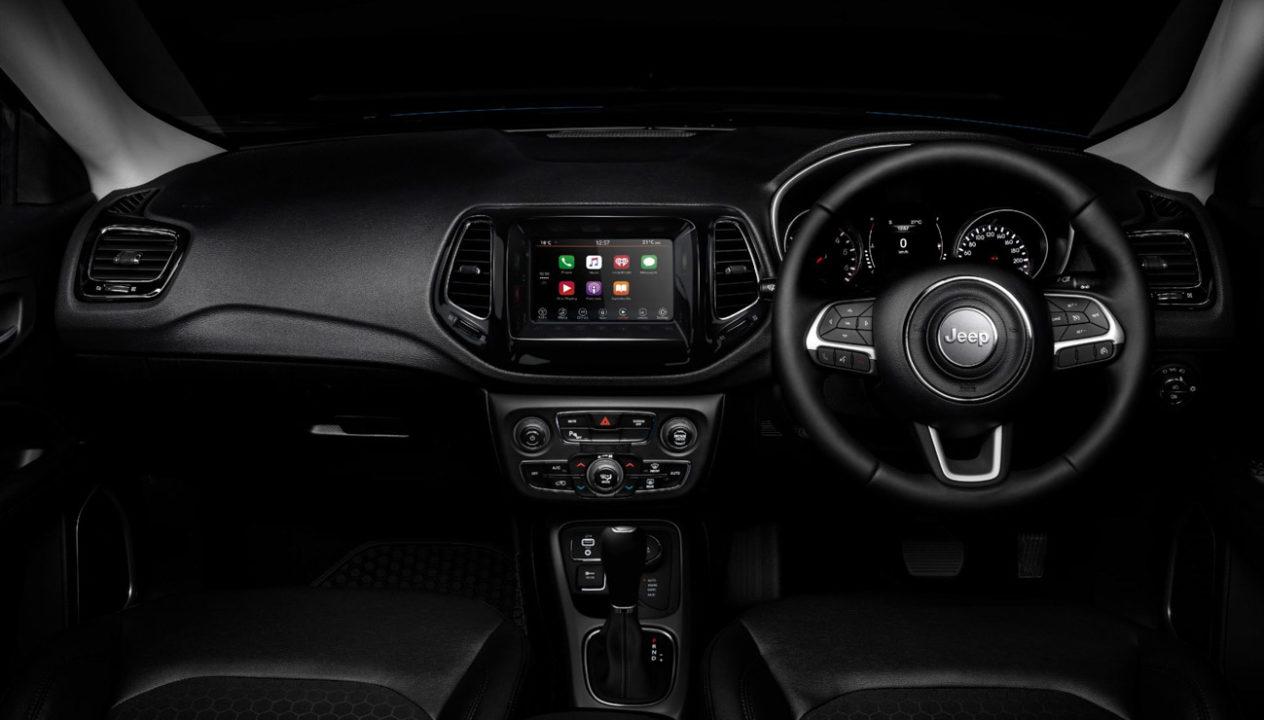 Jeep Night Eagle edition interior