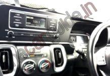 Kia Sonet base model interior spied