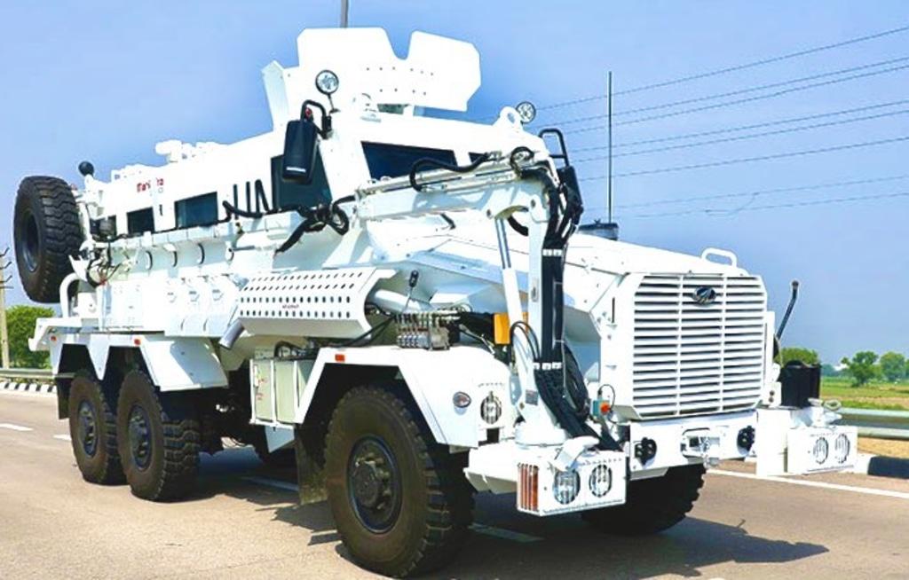 Mahindra Defence Vehicle United Nations