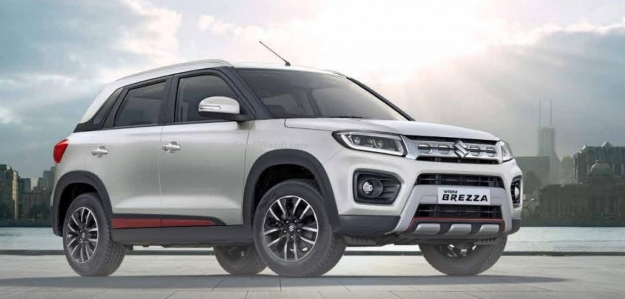 Maruti Suzuki Vitara Brezza With Genuine Accessories
