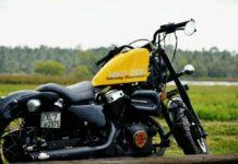 Modified Yamaha Enticer Harley Davidson