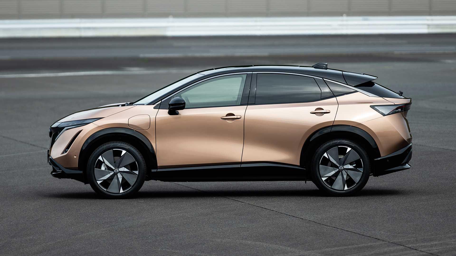 Nissan Ariya Electric SUV Unveiled With 480 Km Driving Range