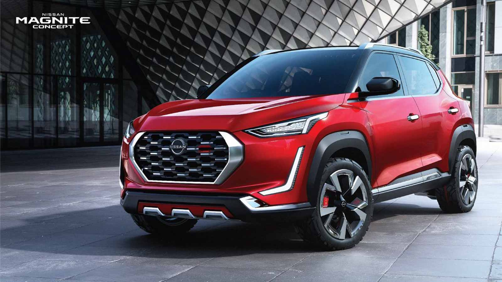 Nissan Magnite Compact SUV Revealed Officially Ahead Of Launch