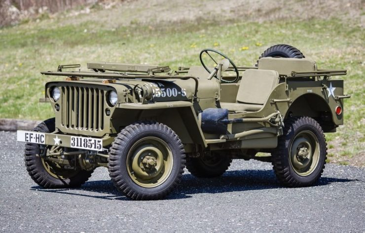 Origin of SUV - Willys Jeep