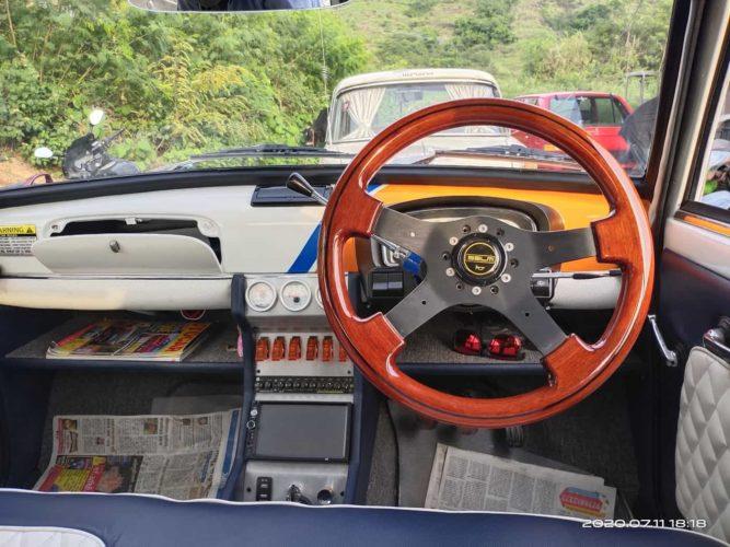 Modified Premier Padmini dashboard