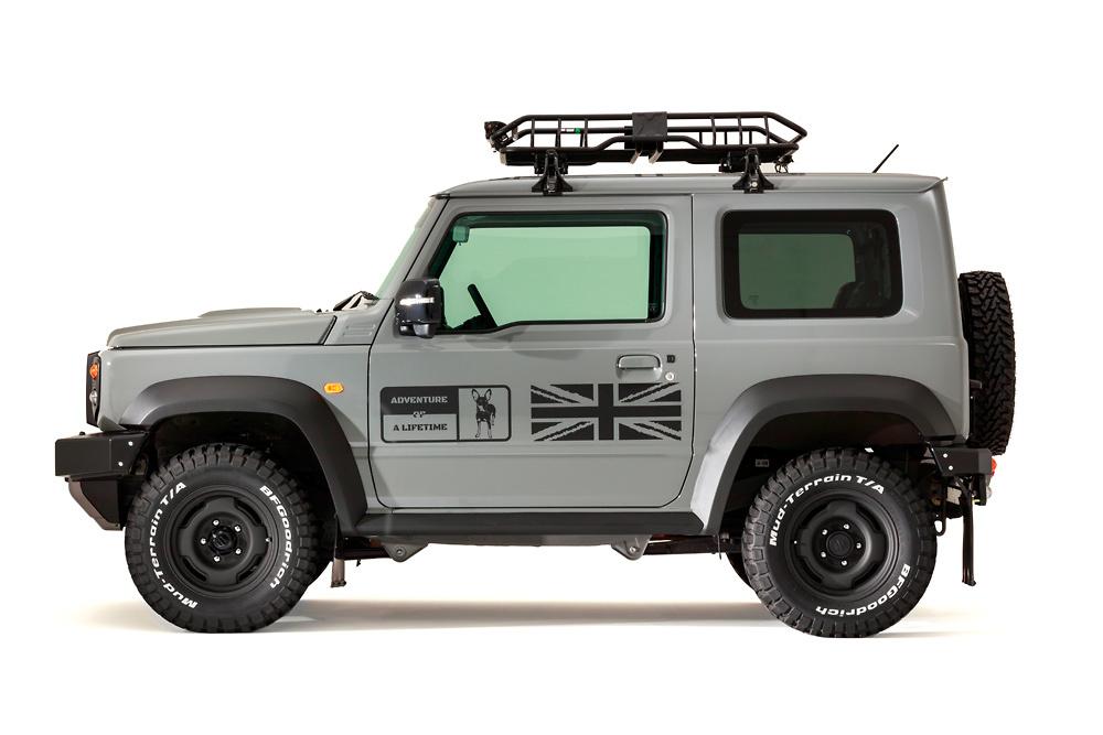 Suzuki Jimny modified Little D side profile