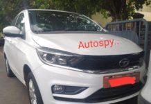 Tata Tigor EV facelift front