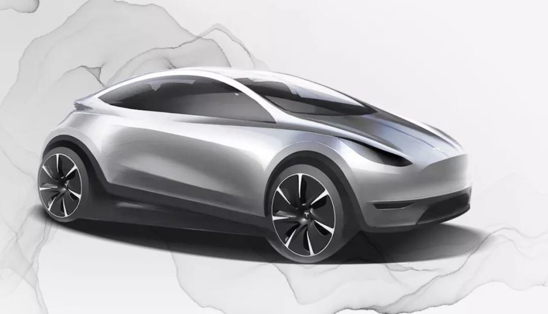 upcoming Tesla Model 2