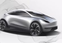 upcoming Tesla Model 2